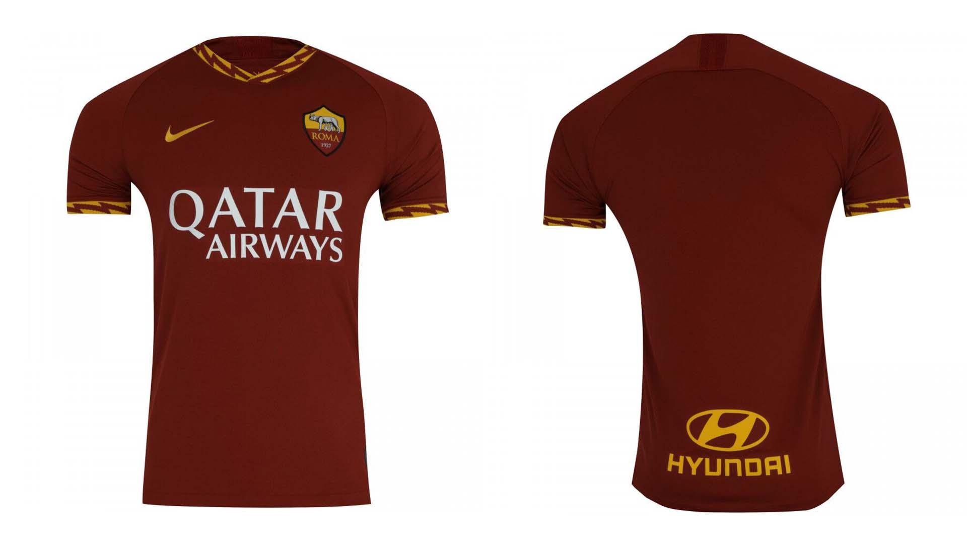 camisa titular roma 2019 20