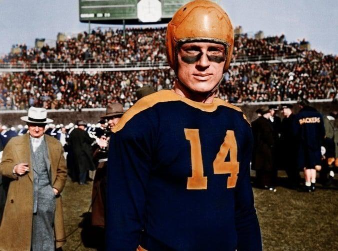 Don Hutson um dos melhores wide receivers da NFL em todos os tempos