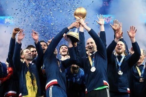 França é a maior vencedora da história do Campeonato Mundial de Handebol Masculino