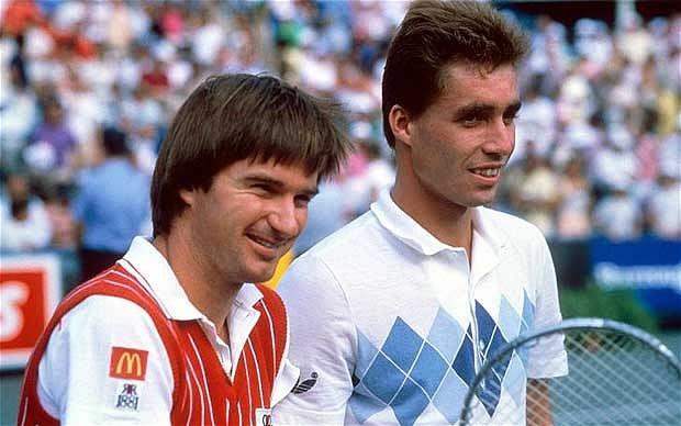 Jimmy Connors e Ivan Lendl maiores rivalidades do tênis
