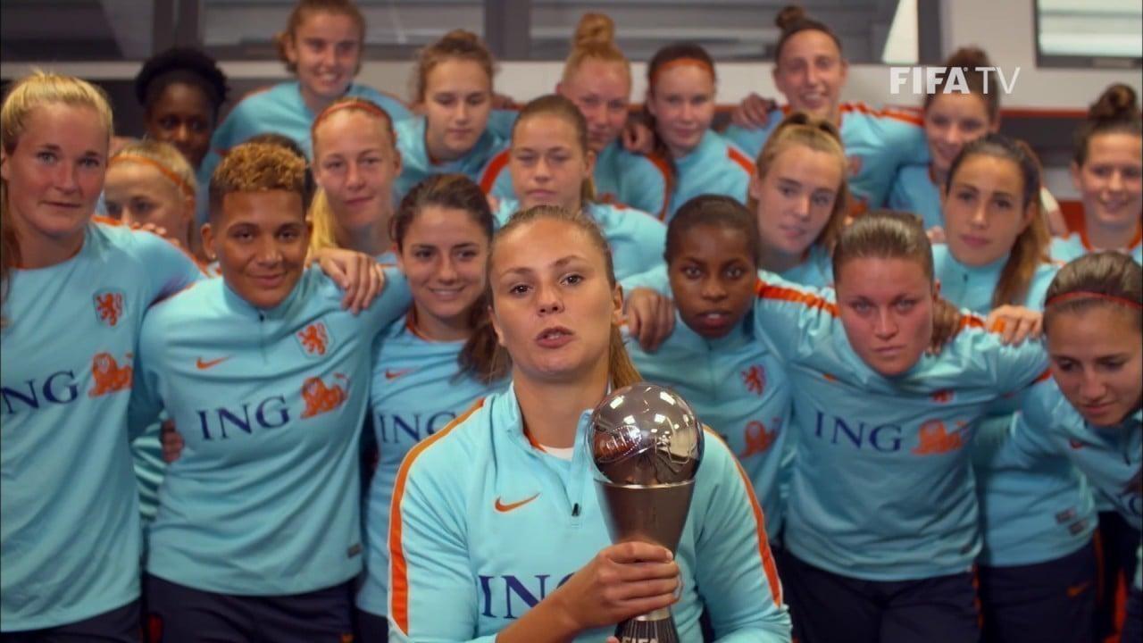 Lieke Mertens melhores jogadoras do futebol feminino