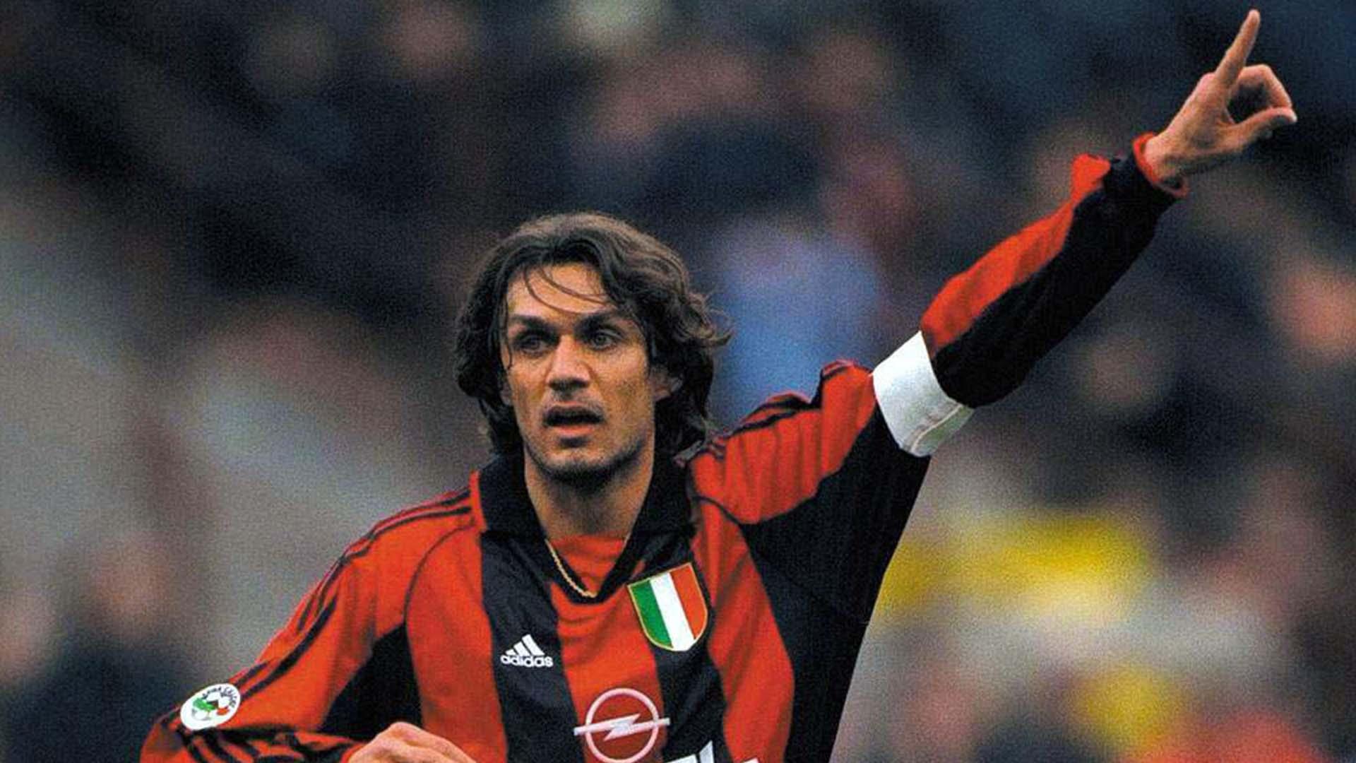 melhor zagueiro do mundo Paolo Maldini