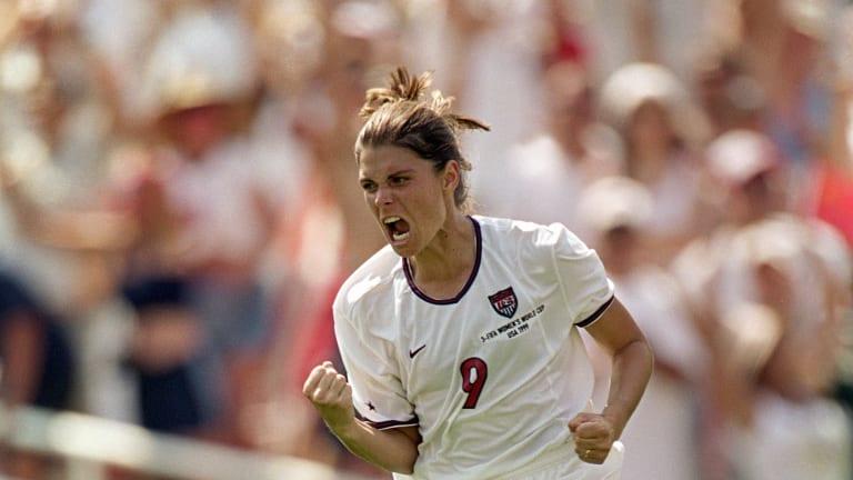 Mia Hamm melhores jogadoas de futebol da história
