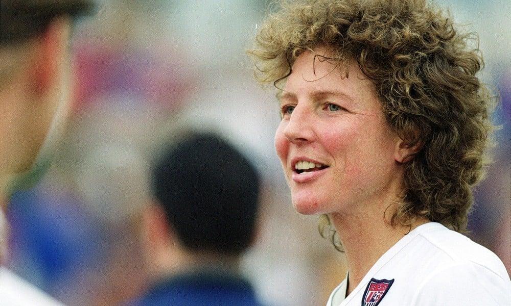 Michelle Akers melhoras de futebol da história