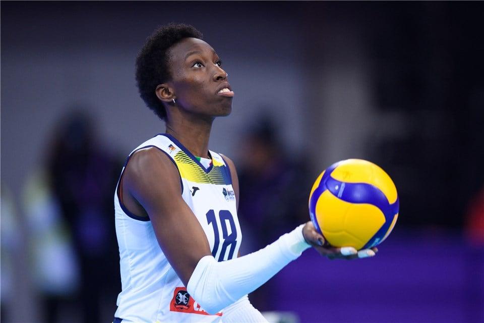 Paola Egonu melhor jogadora de vôlei do mundo na atualidade