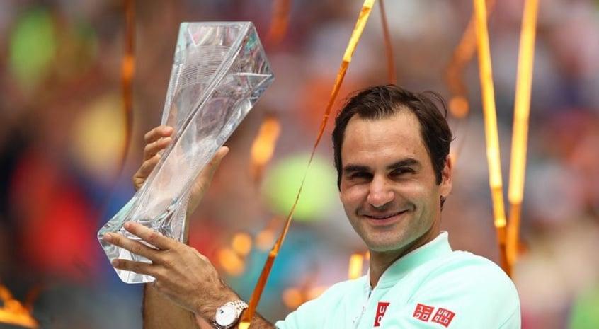Roger Federer campeão Masters Miami