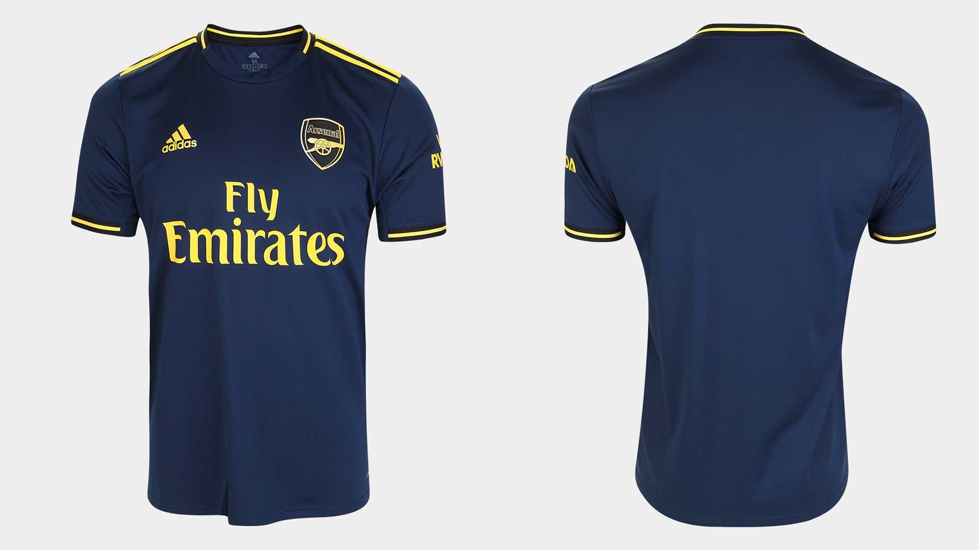 terceiro uniforme arsenal 2019 20