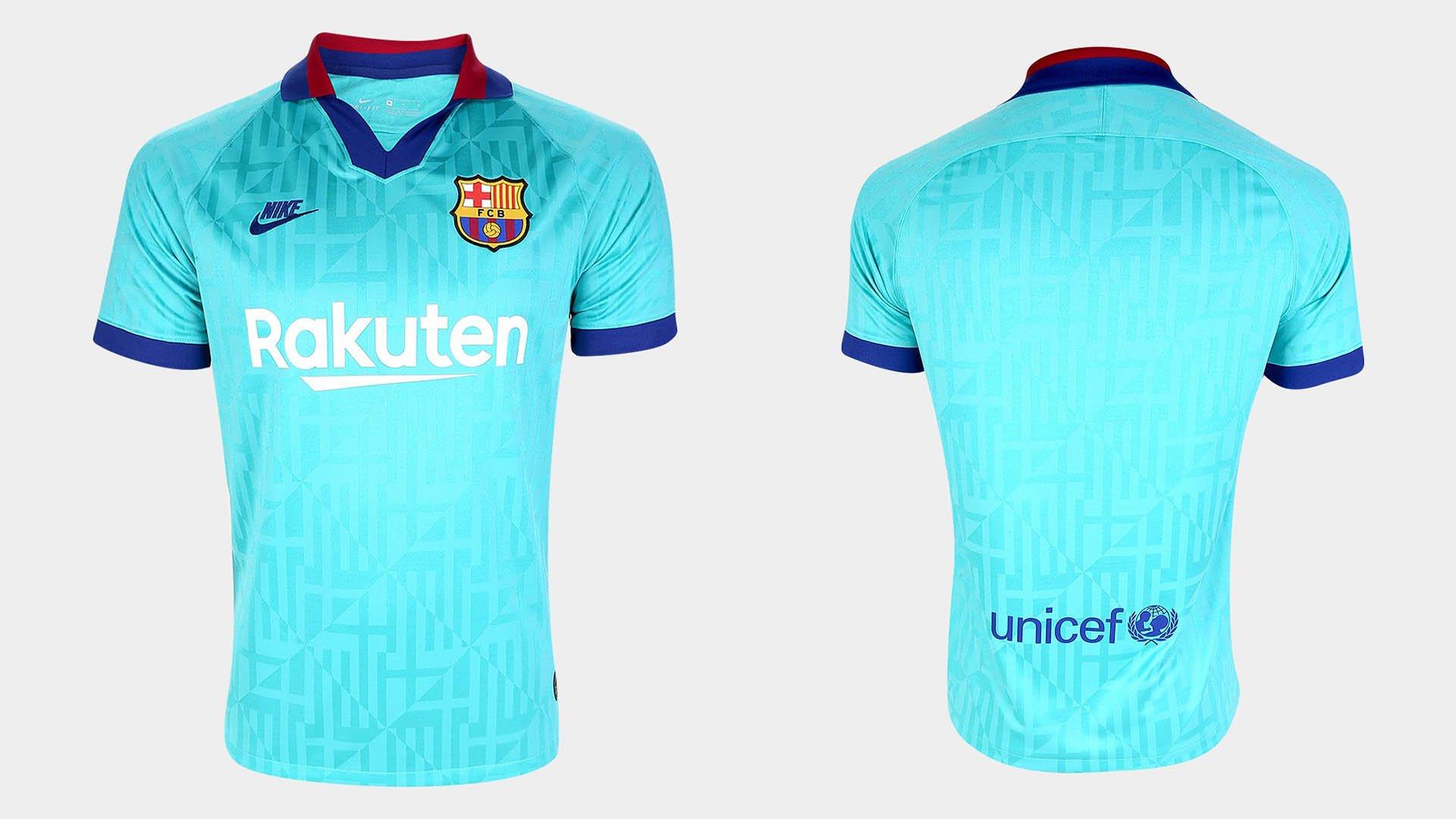 terceiro uniforme barcelona 2019 20