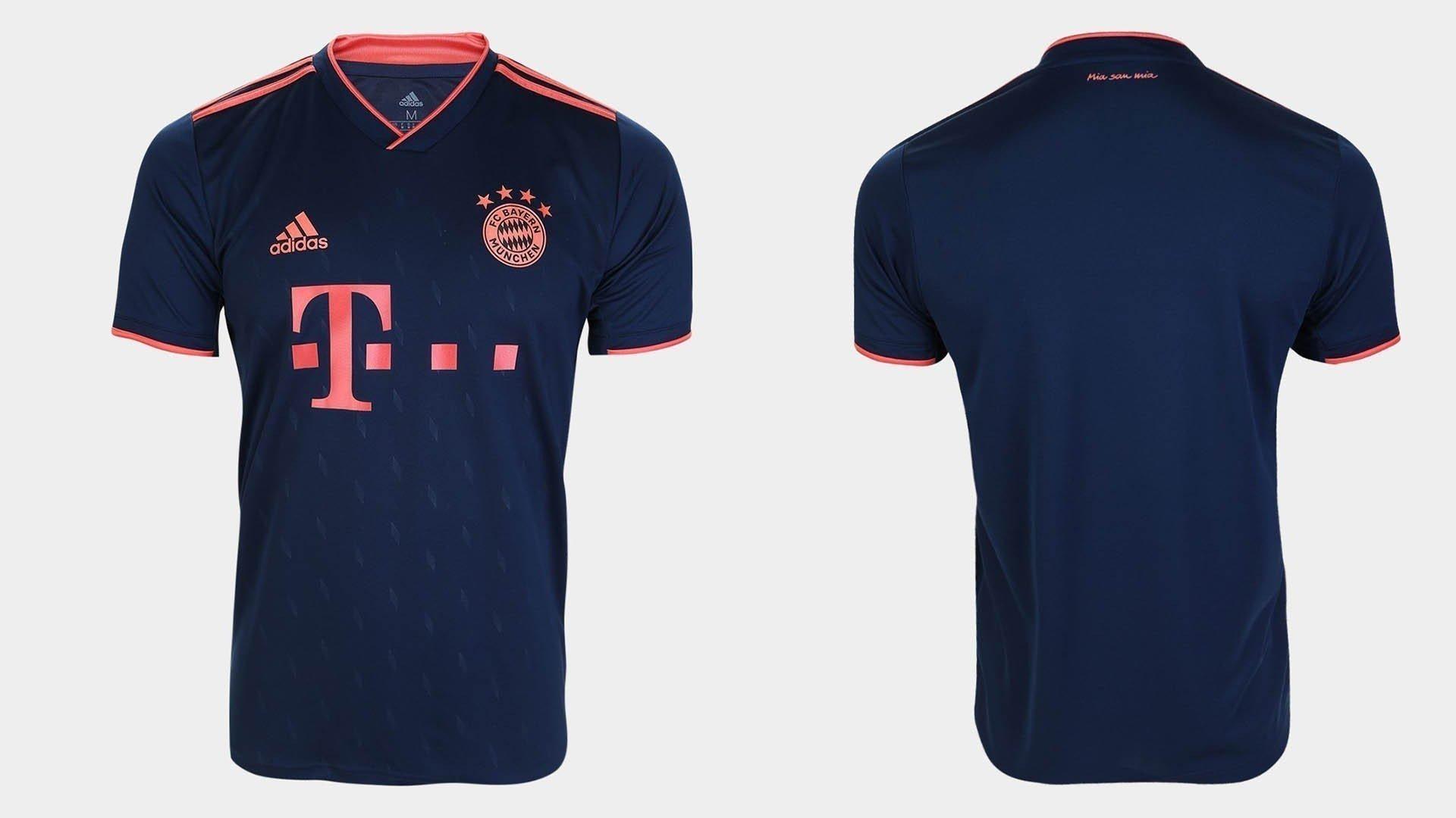 terceiro uniforme bayern 2019 20
