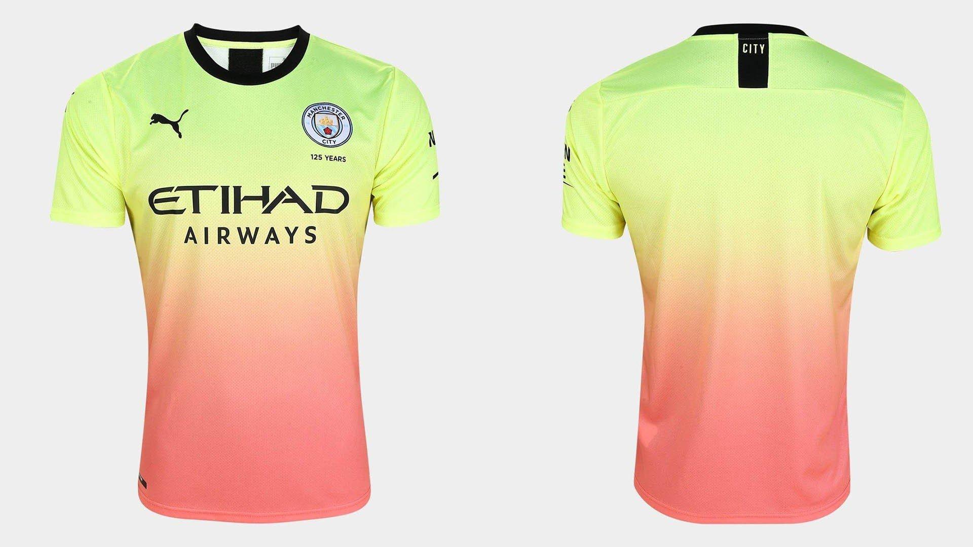 terceiro uniforme manchester city 2019 20