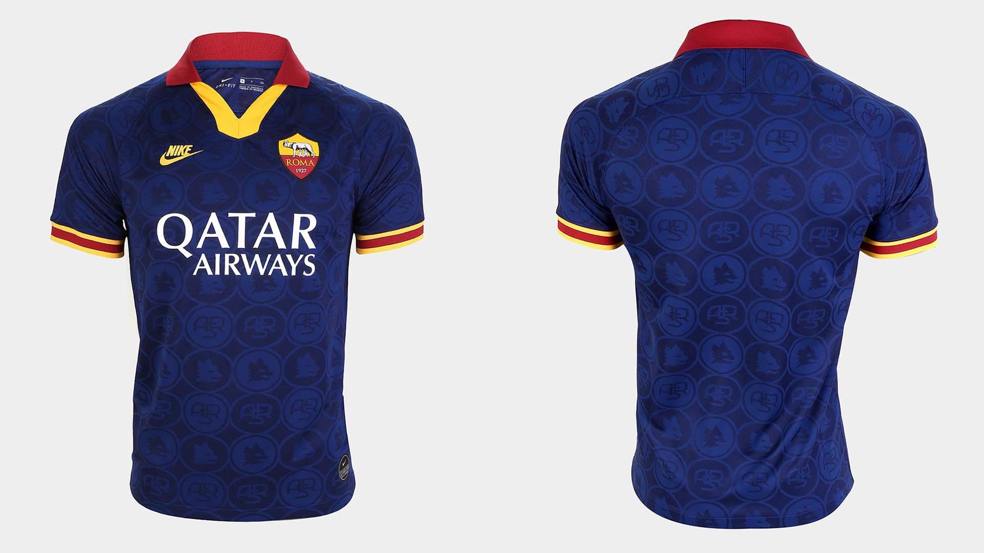 terceiro uniforme roma 2019 20