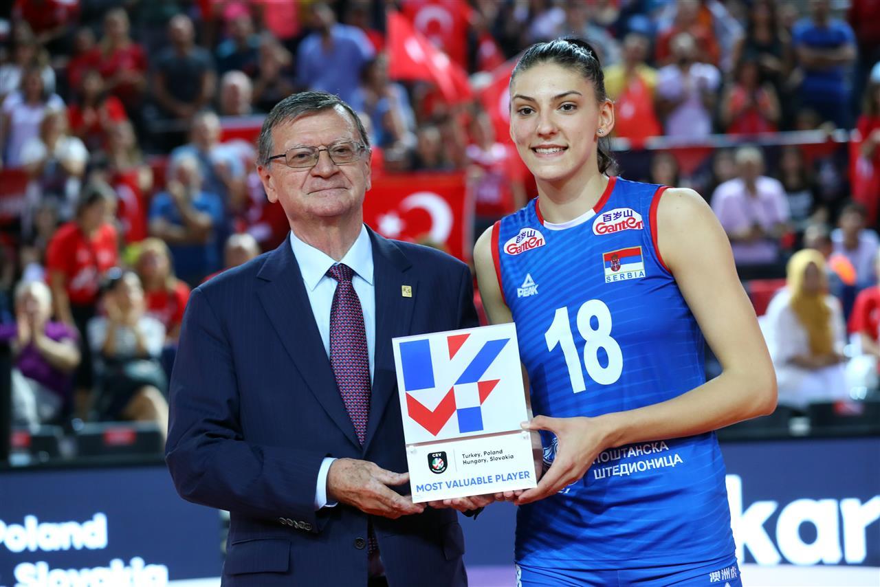 Tijana Boskovic melhor jogadora de vôlei do mundo