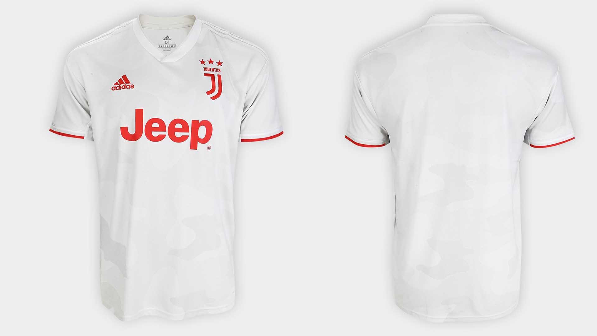 uniforme reserva juventus 2019 20