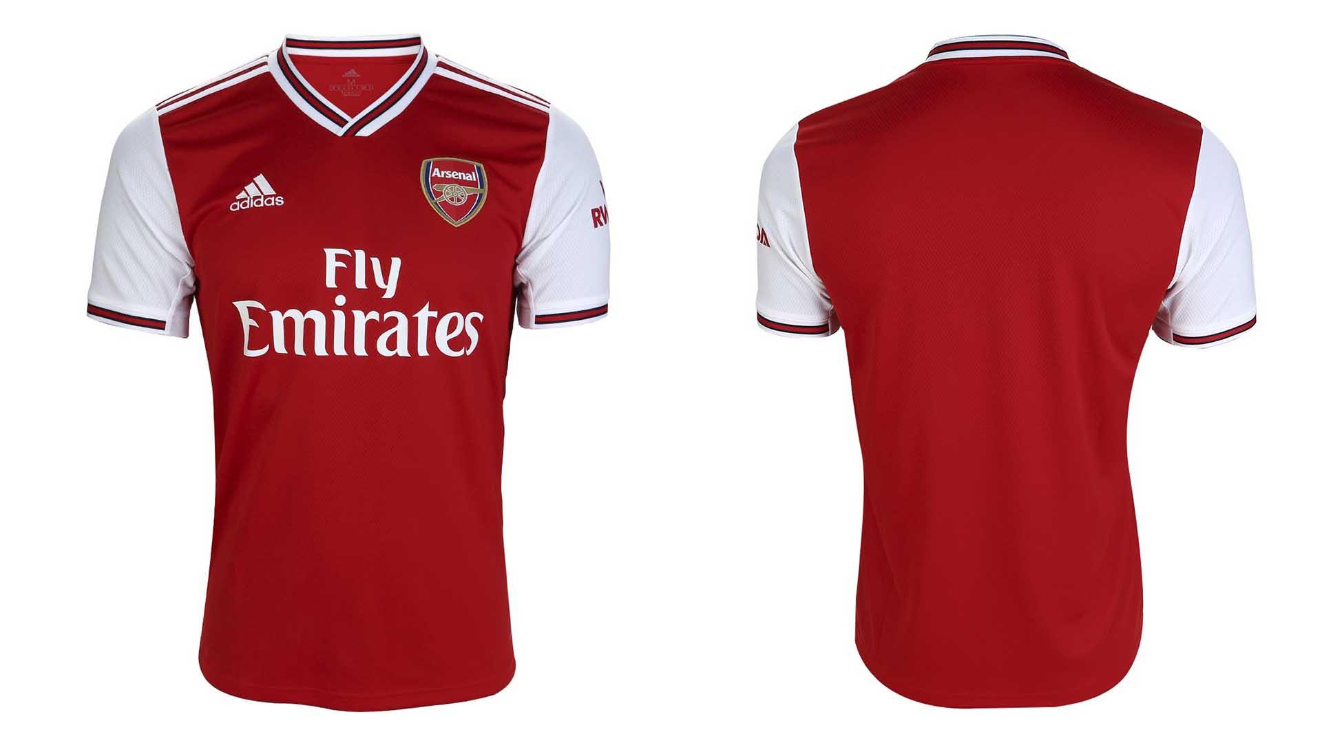uniforme titular arsenal 2019 20