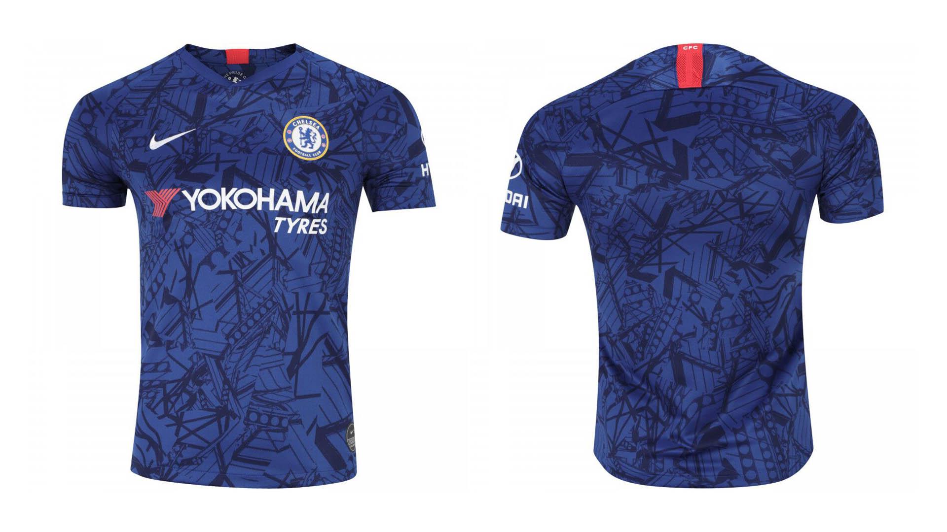 uniforme titular chelsea 2019 20