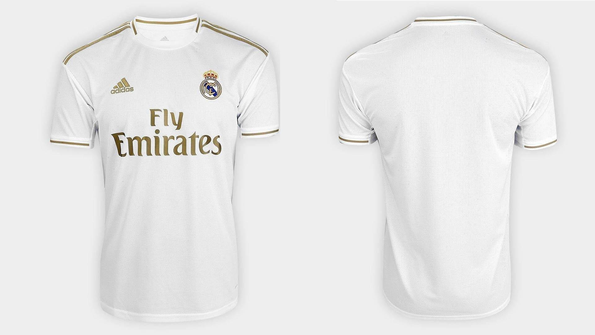 uniforme titular real madrid 2019 20