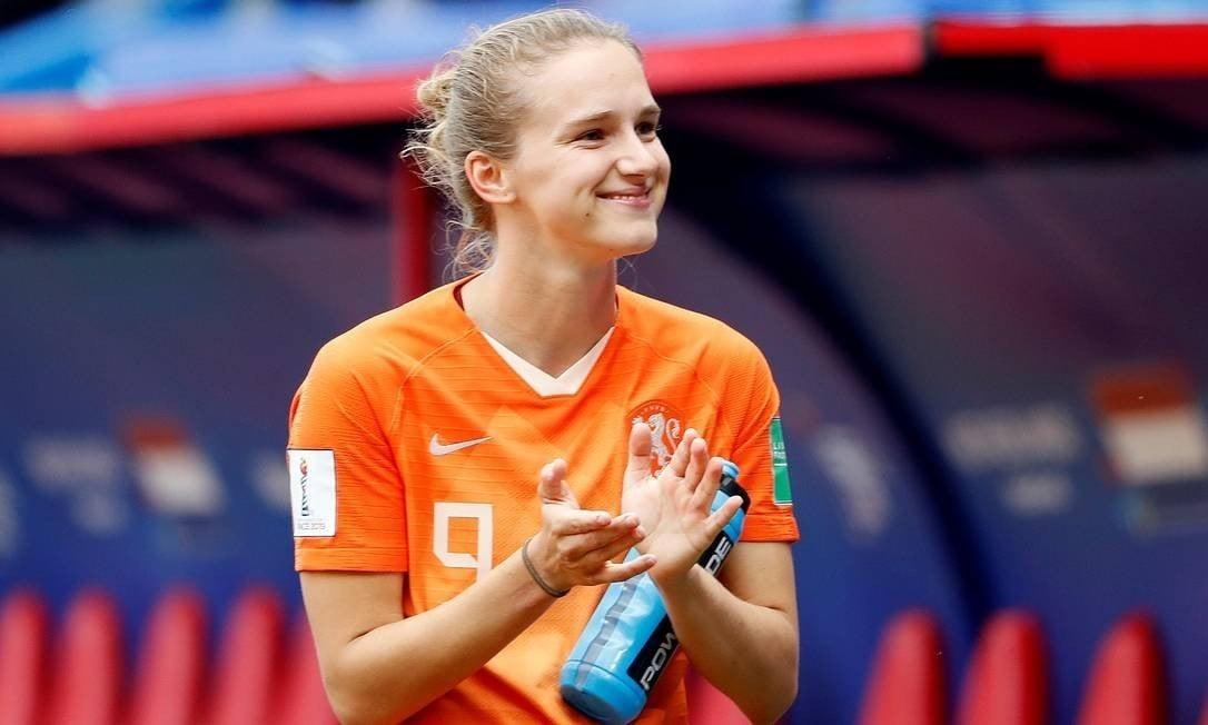 Vivianne Miedema melhores jogadoras de futebol feminino
