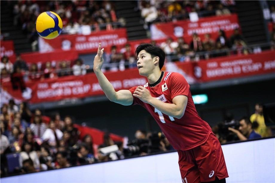 Yuji Nishida melhor jogador de vôlei do mundo na posição de oposto