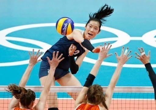 Zhu Ting melhor jogadora de vôlei do mundo