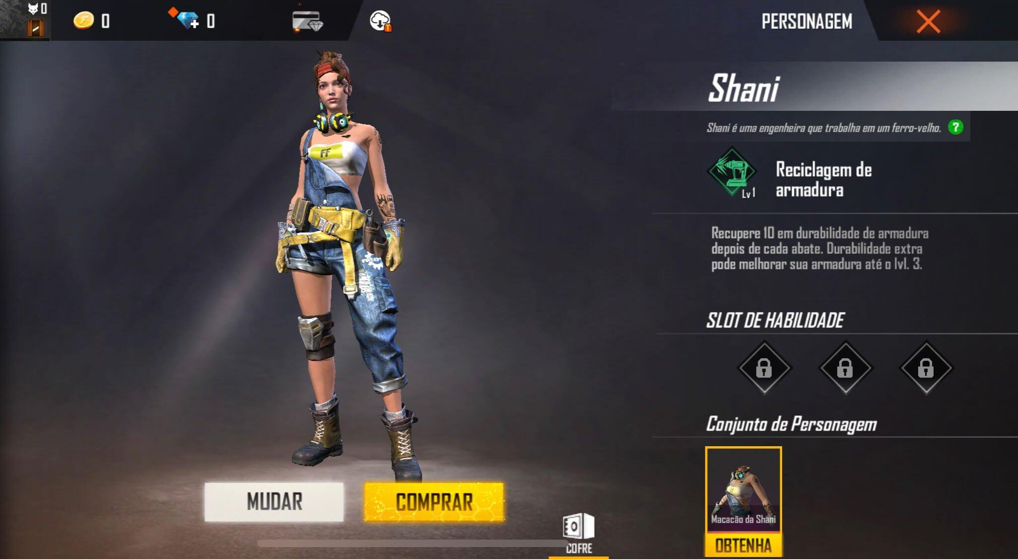 Shani Free Fire