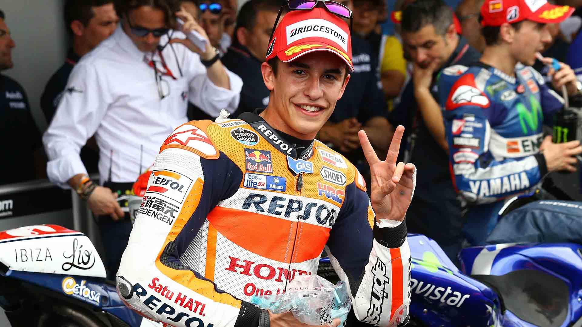 melhores pilotos da motogp Marc Márquez