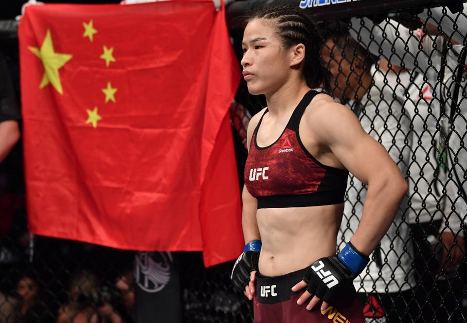 Zhang Weili melhores lutadoras do UFC na história