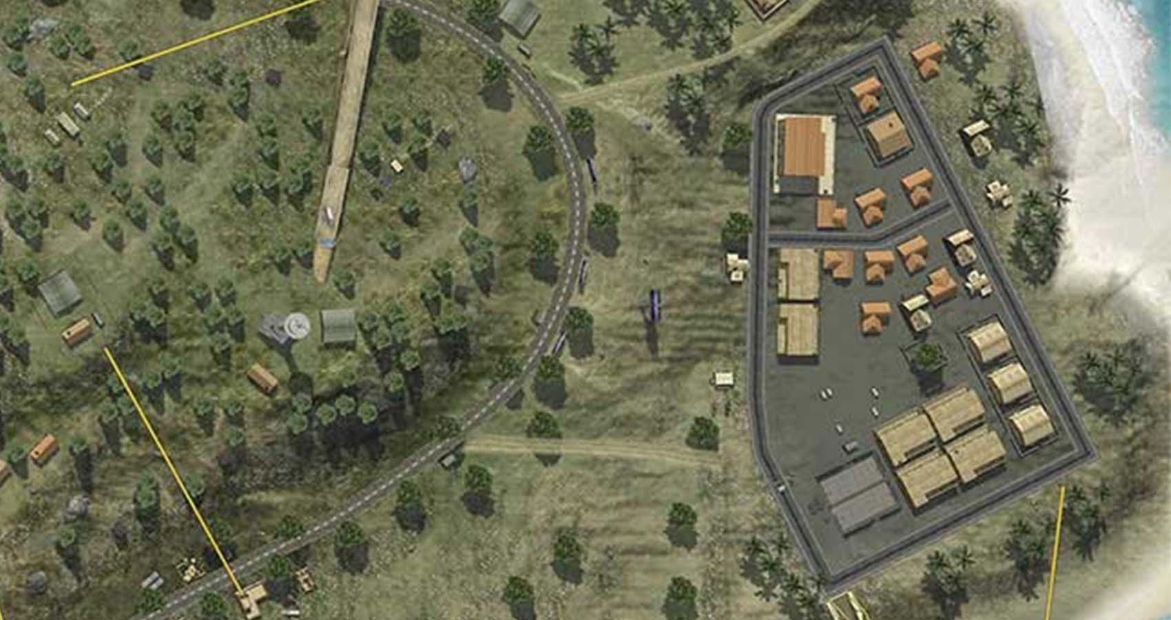 mapas do free fire cape town