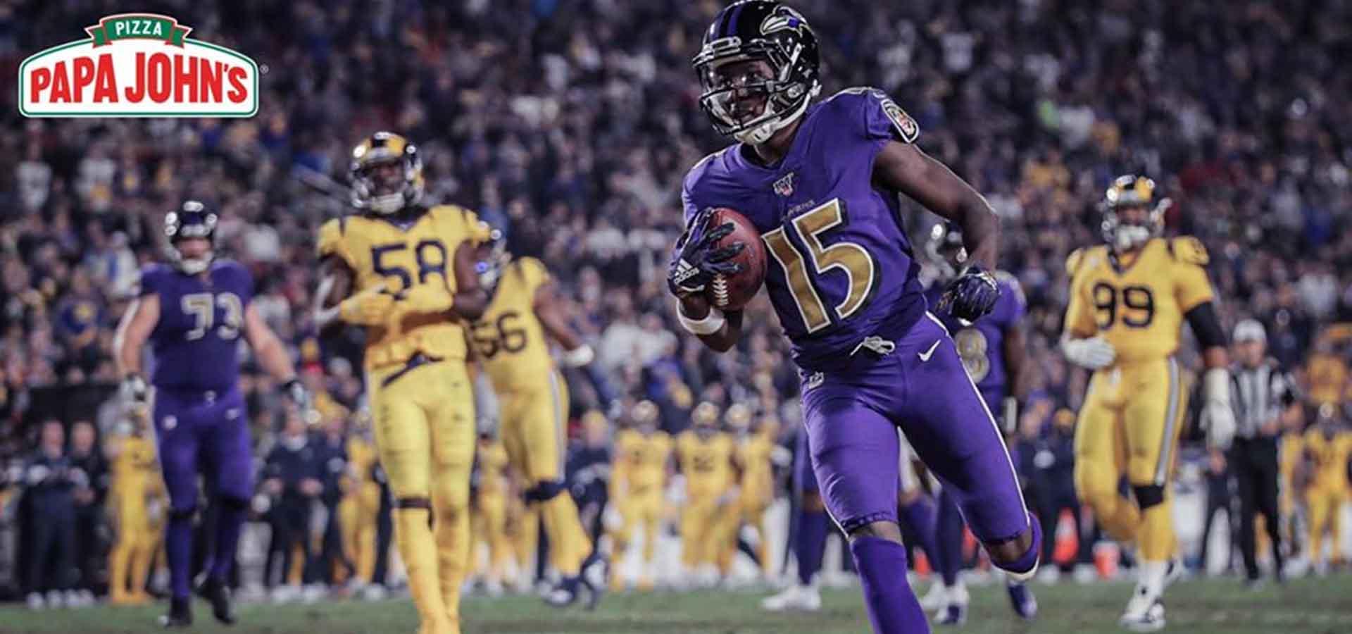 melhores ataques da NFL baltimore ravens