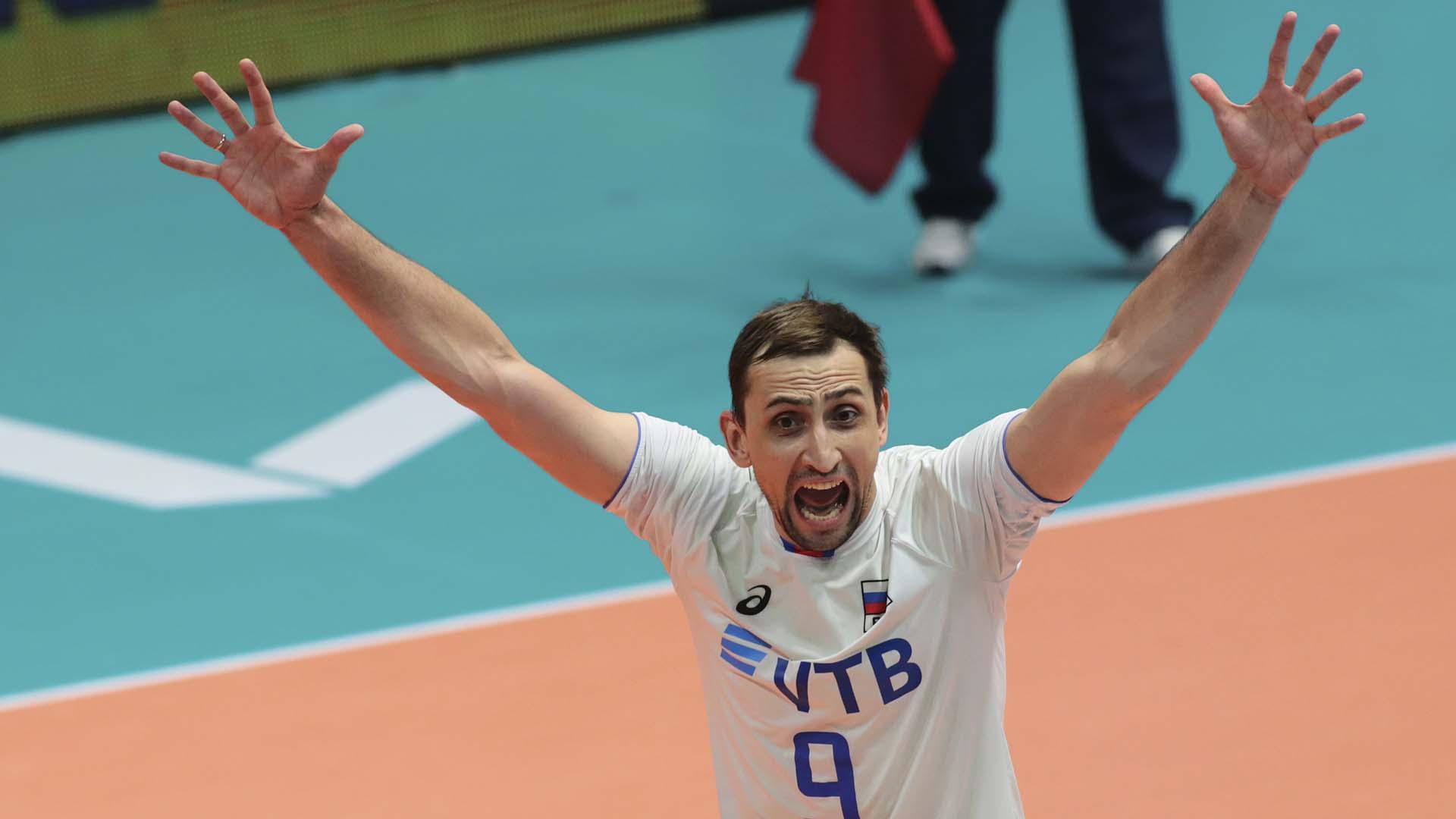 melhores líberos de vôlei do mundo Alexander Sokolov