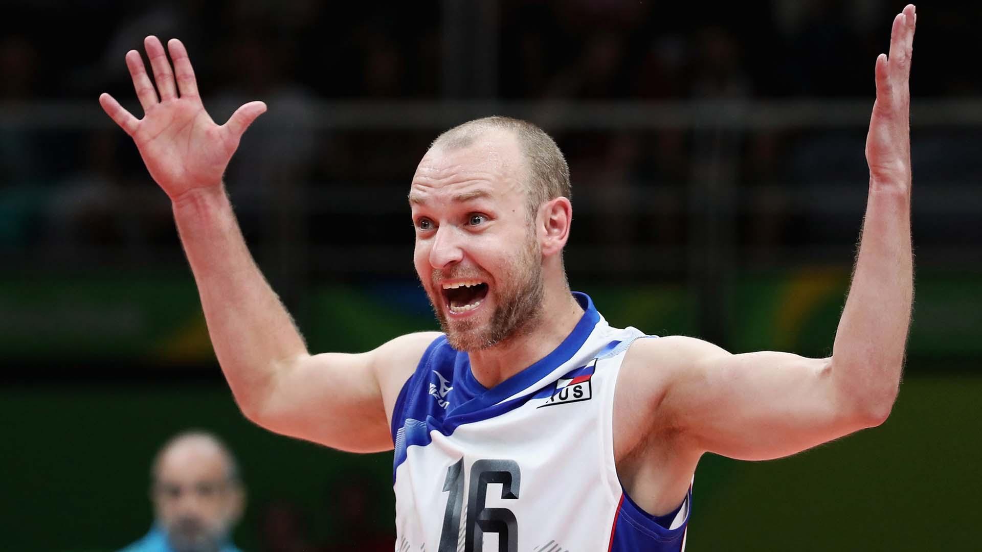 melhores líberos de vôlei do mundo Alexey Verbov