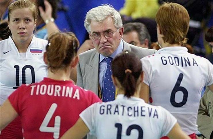 Nikolay Karpol maiores treinadores de vôlei da história