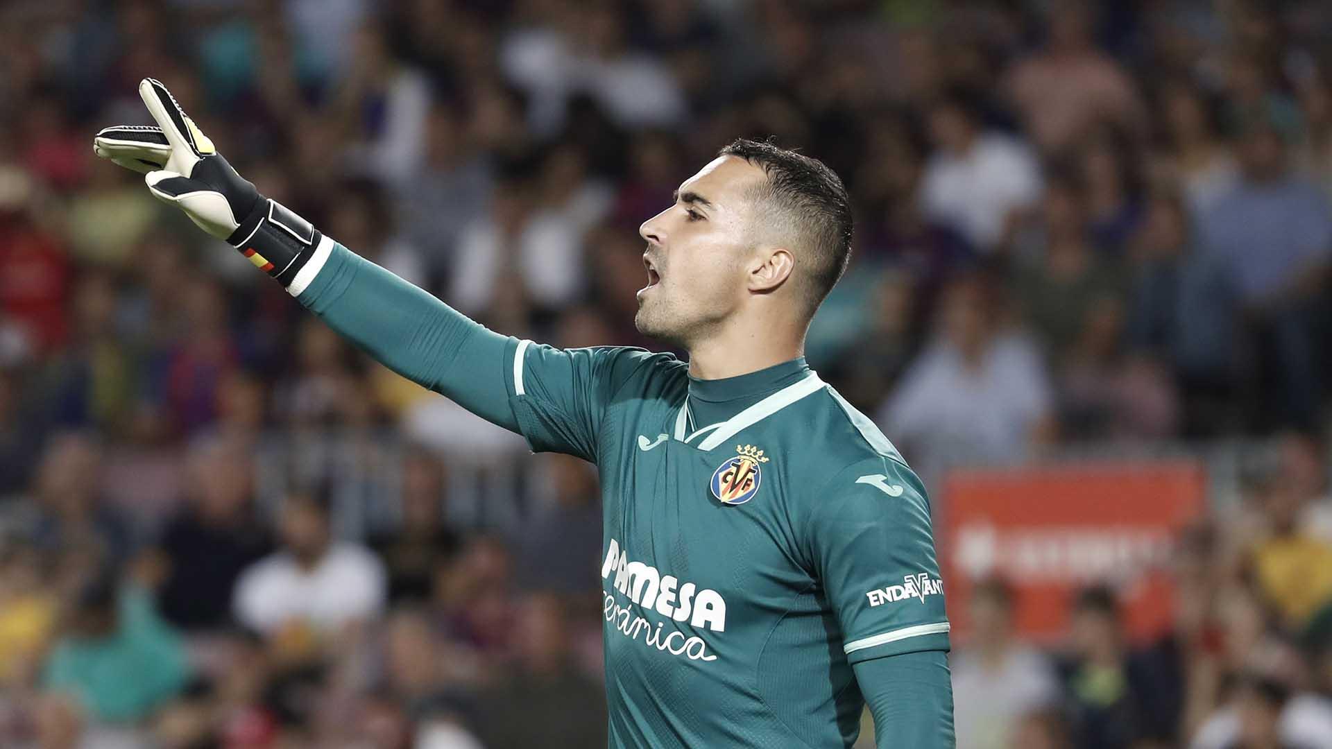 Sergio Asenjo melhores goleiros da espanha