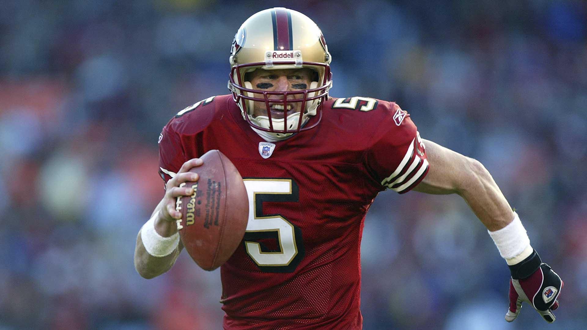 melhores quarterbacks do San Francisco 49ers jeff garcia