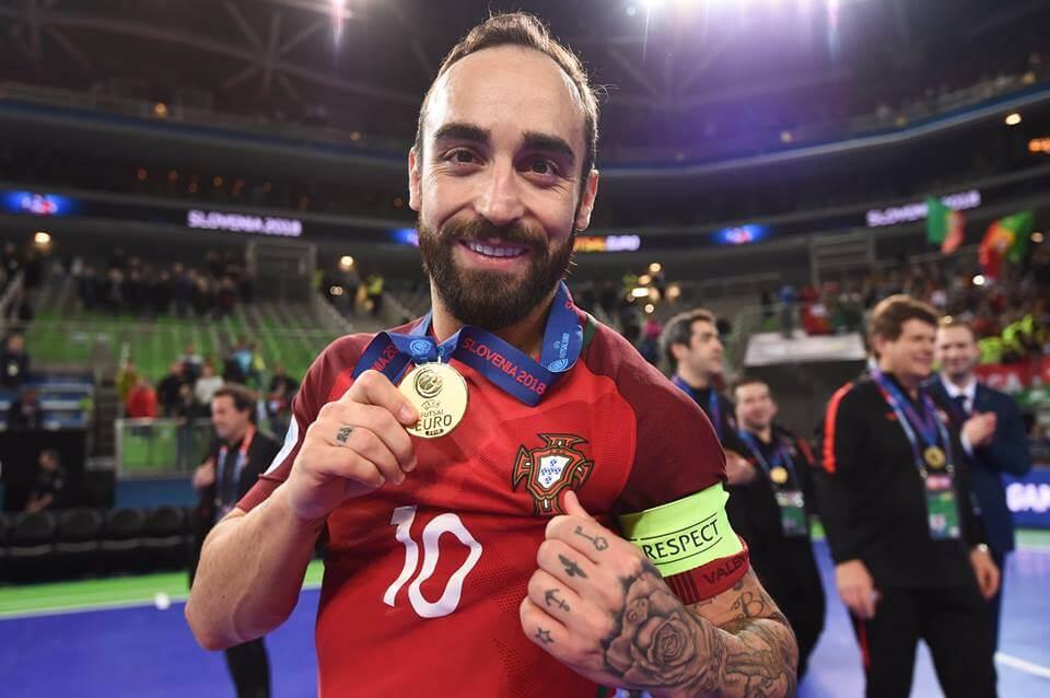 Ricardinho melhor jogador europeu de futsal de todos os tempos
