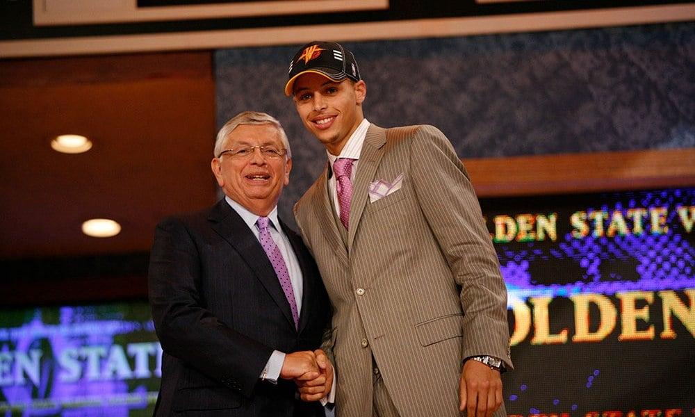 Stephen Curry melhores drafts da NBA