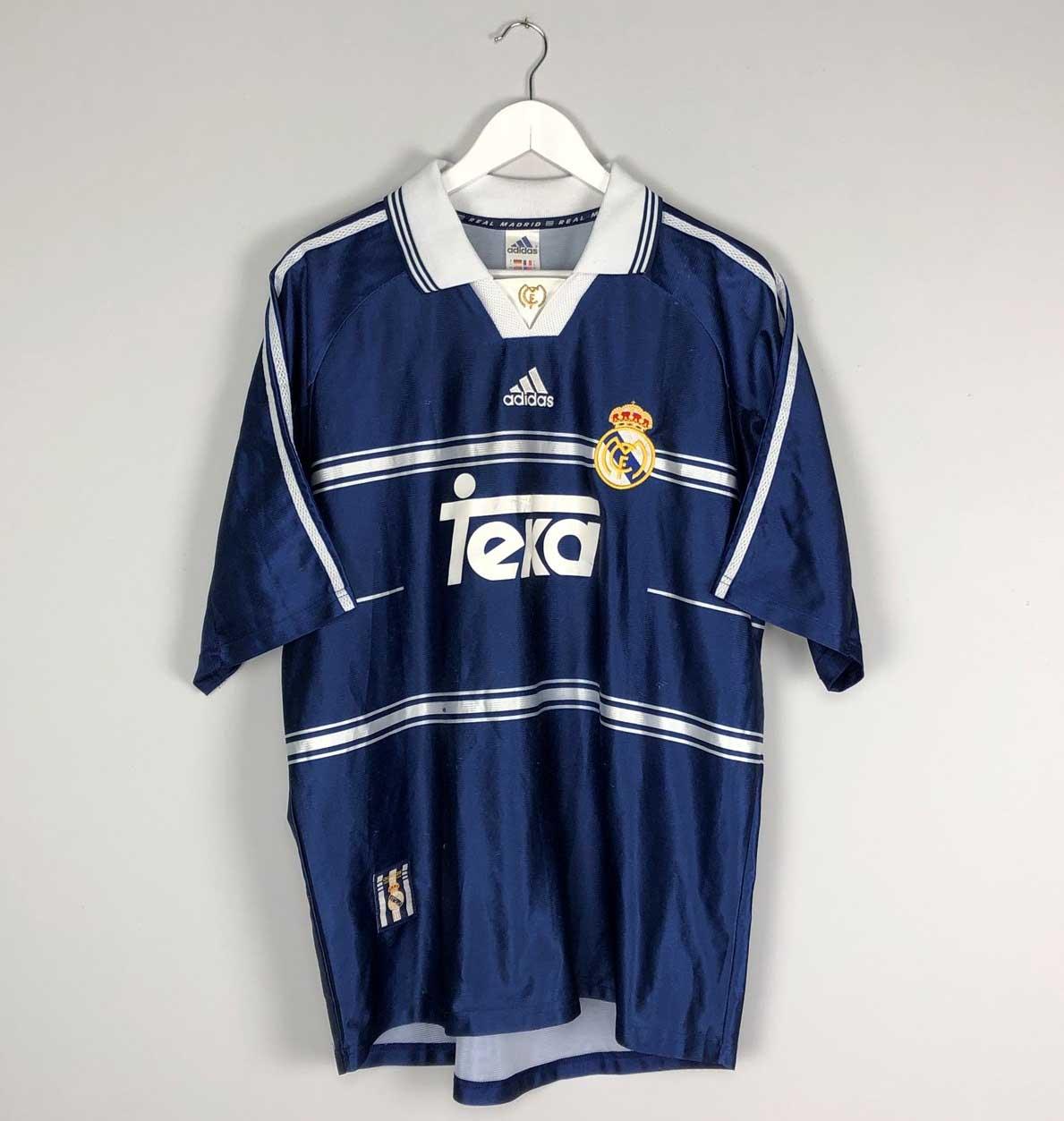 Camisa do Real Madrid Azul