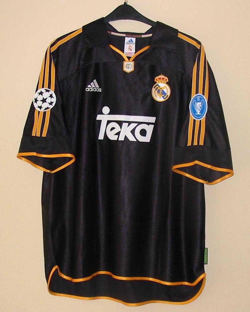 Camisa do Real Madrid Preta