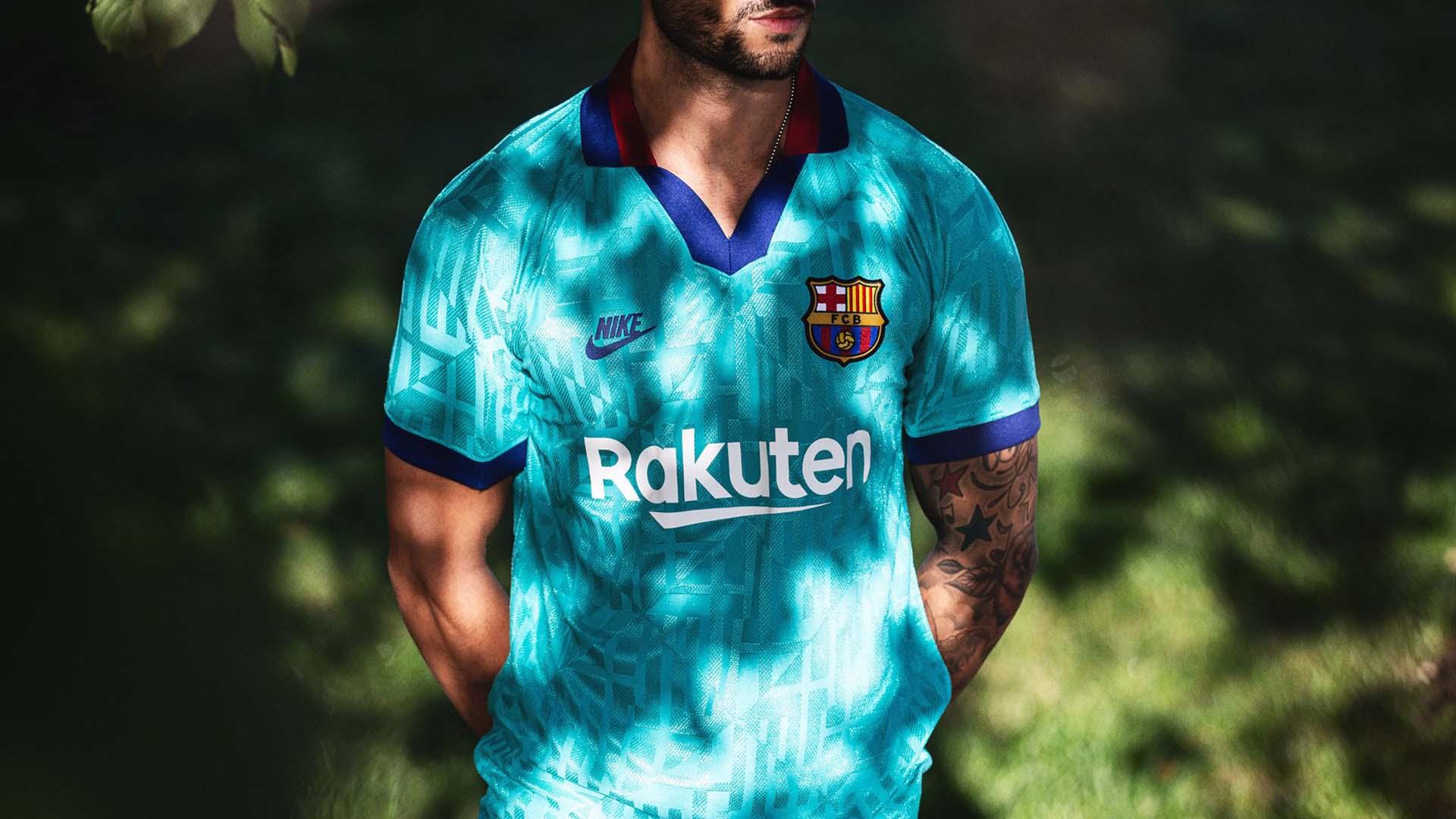Camisas mais bonitas do Barcelona
