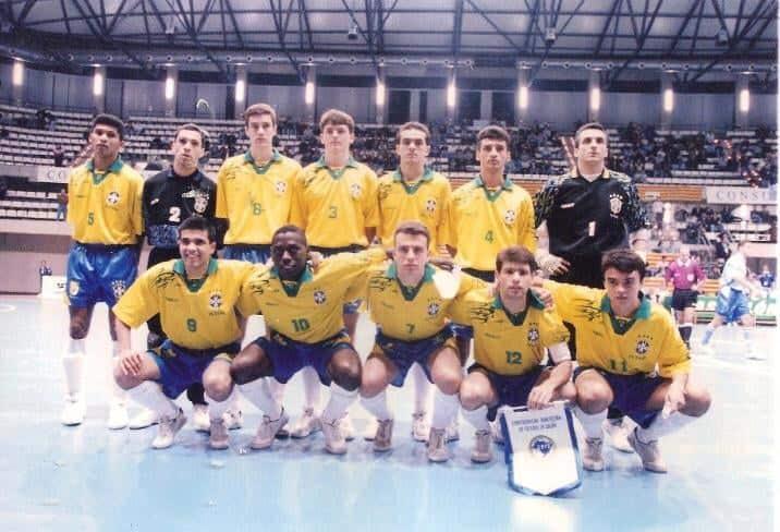 Serginho goleiro maiores jogadores da seleção brasileira de futsal