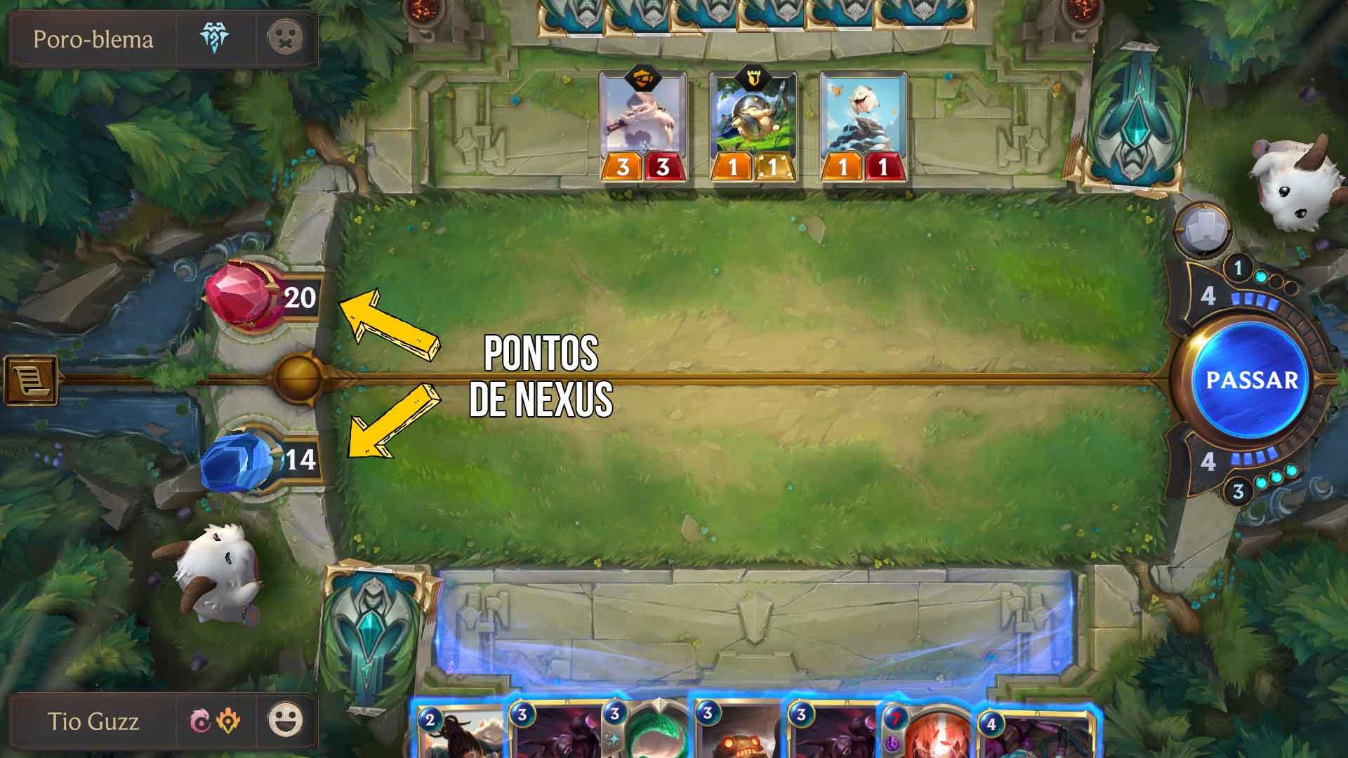 como jogar legends of runeterra