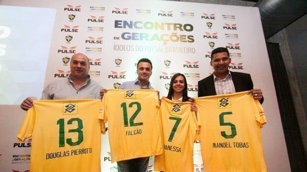 Douglas Pierrotti maiores jogadores da seleção brasileira de futsal