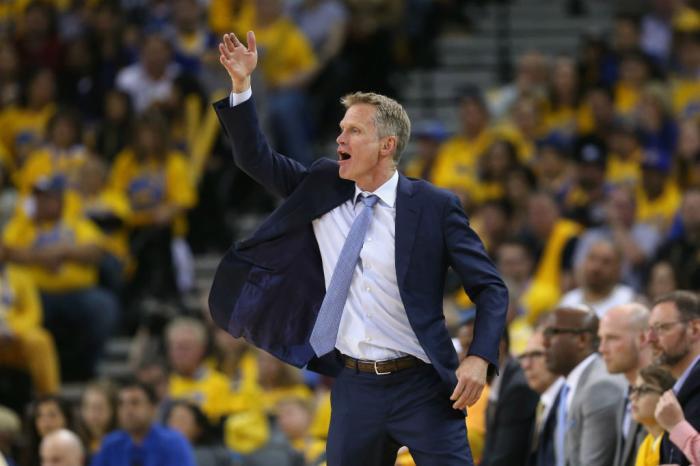 Steve Kerr Warriors maiores técnicos da NBA