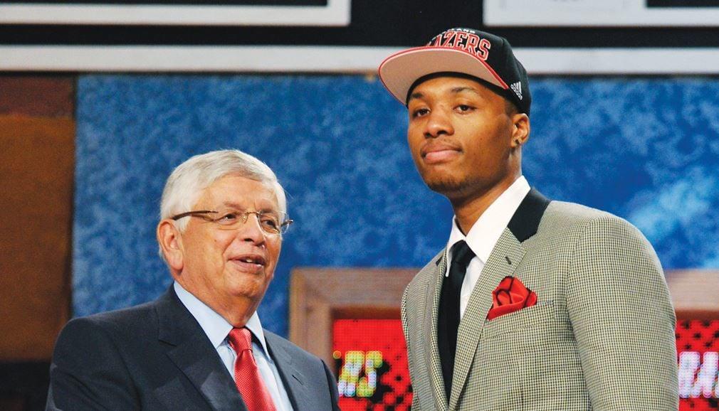 Damian Lillard draft da NBA