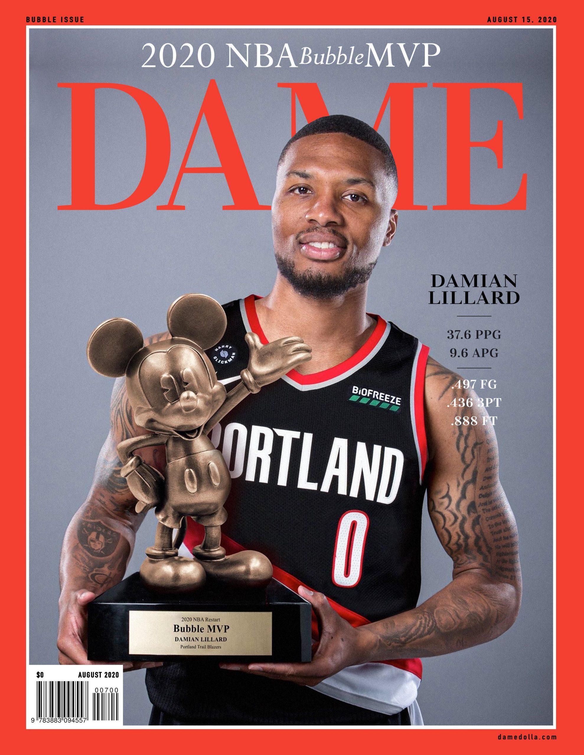 Damian Lillard MVP da bolha da NBA