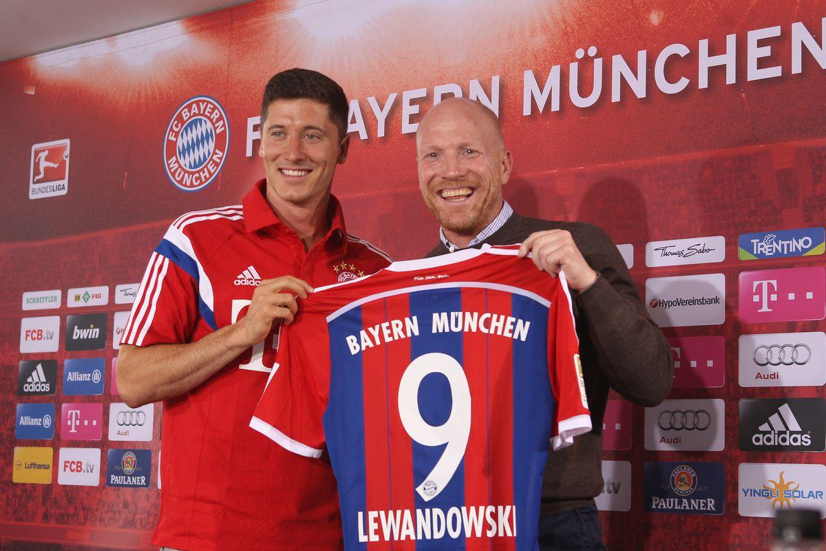 Robert Lewandowski no Bayern de Munique