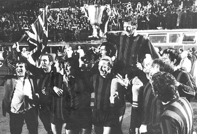 Manchester City campeão da Recopa Europeia em 1970
