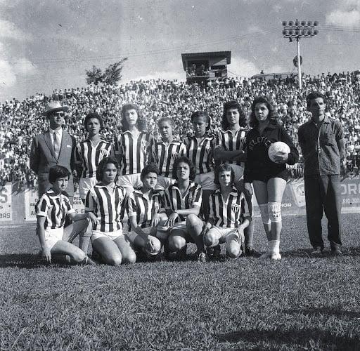 Foto da equipe do Atletico Mineiro