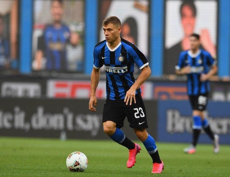 Barella em atuação pela Inter de Milão