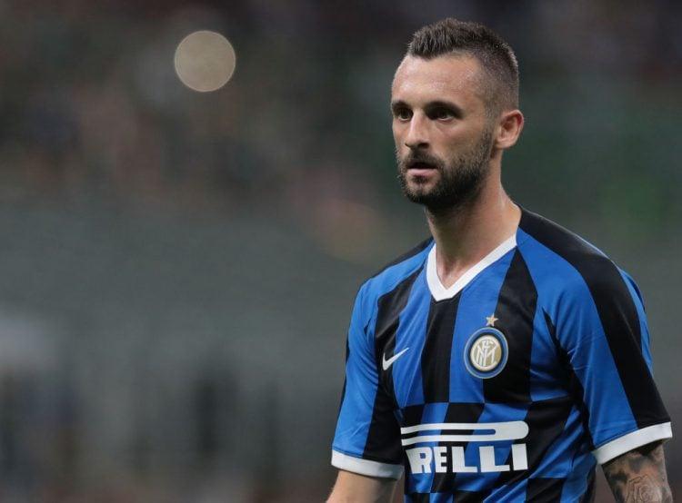 Brozovic em jogo da Inter de Milão