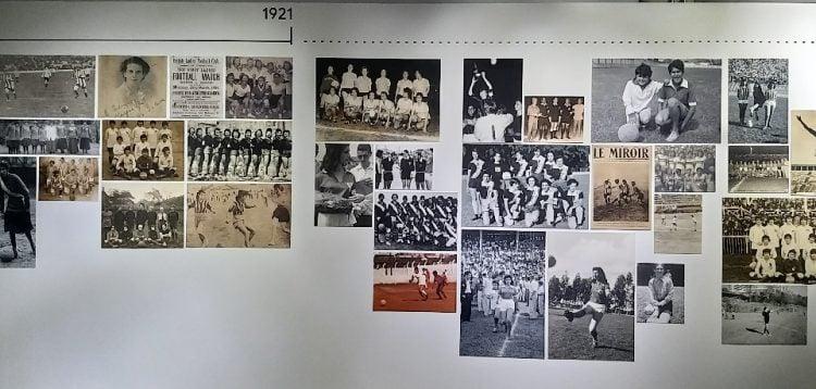 """Registro da exposição """"Museu do Impedimento"""", no Museu do Futebol"""